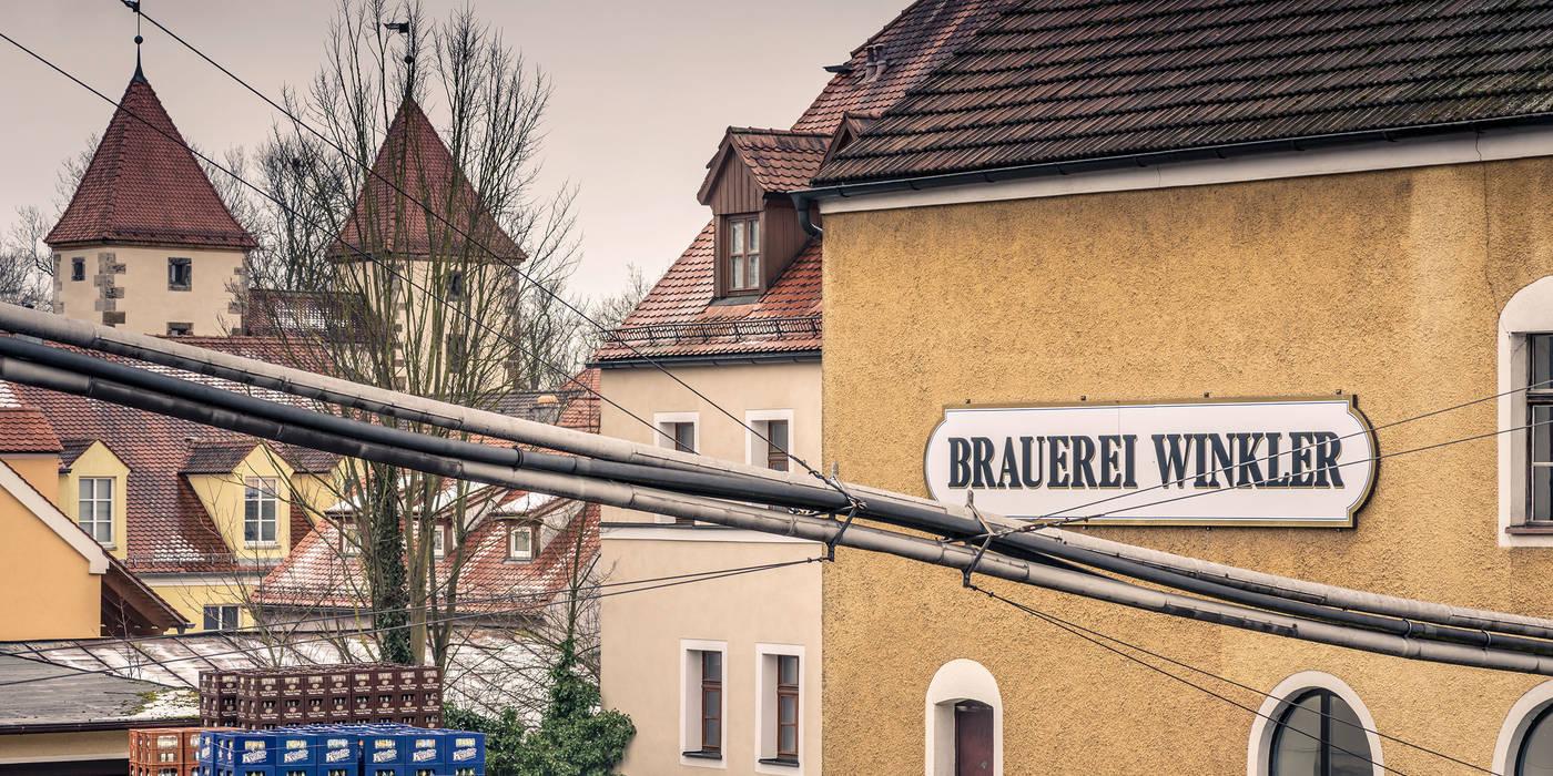Brauerei Winkler Amberg Braustatte Seit 1617 Familientradition Seit 1913